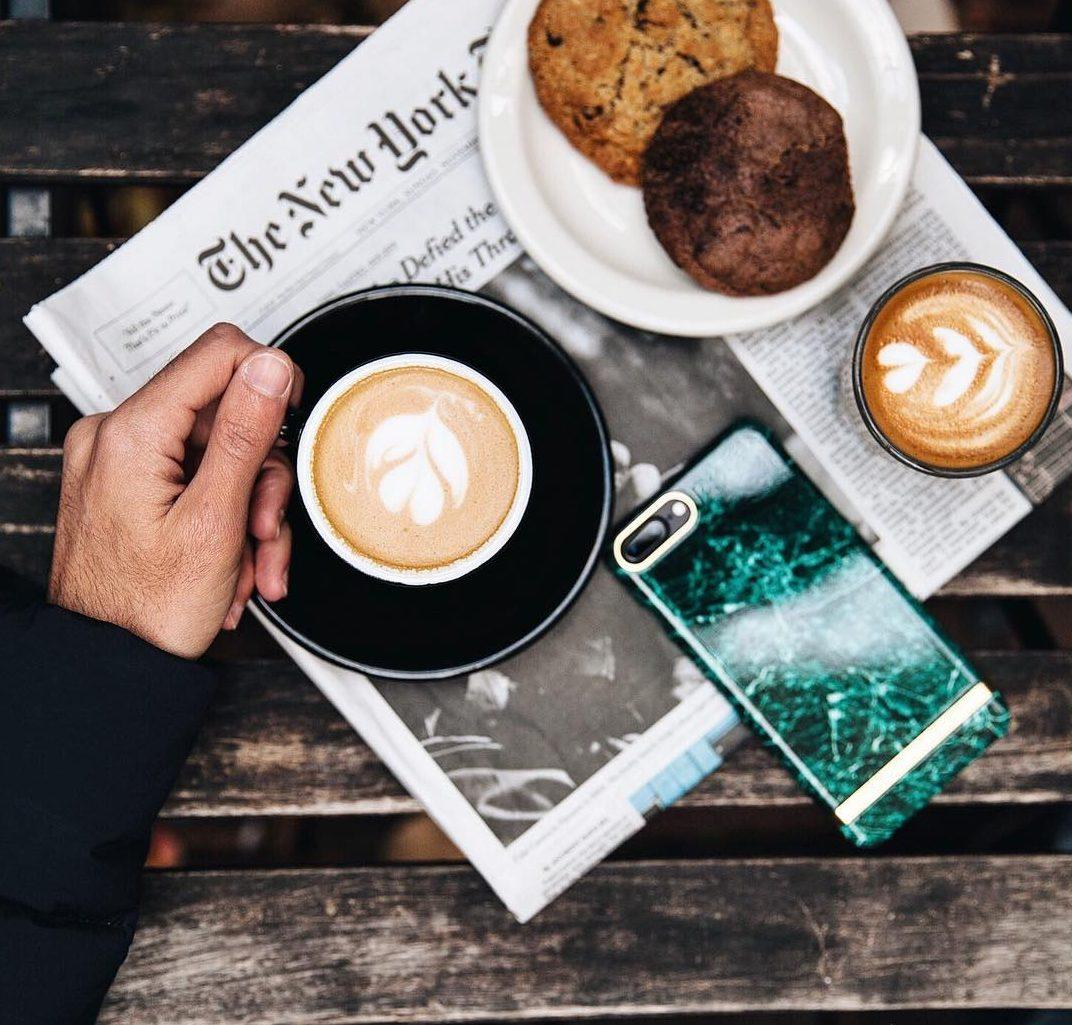 Pura cafeína en Instagram