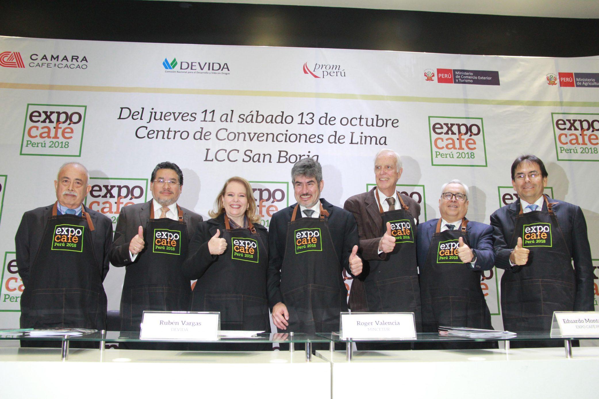 Mañana se inicia la Expo Café Perú 2018