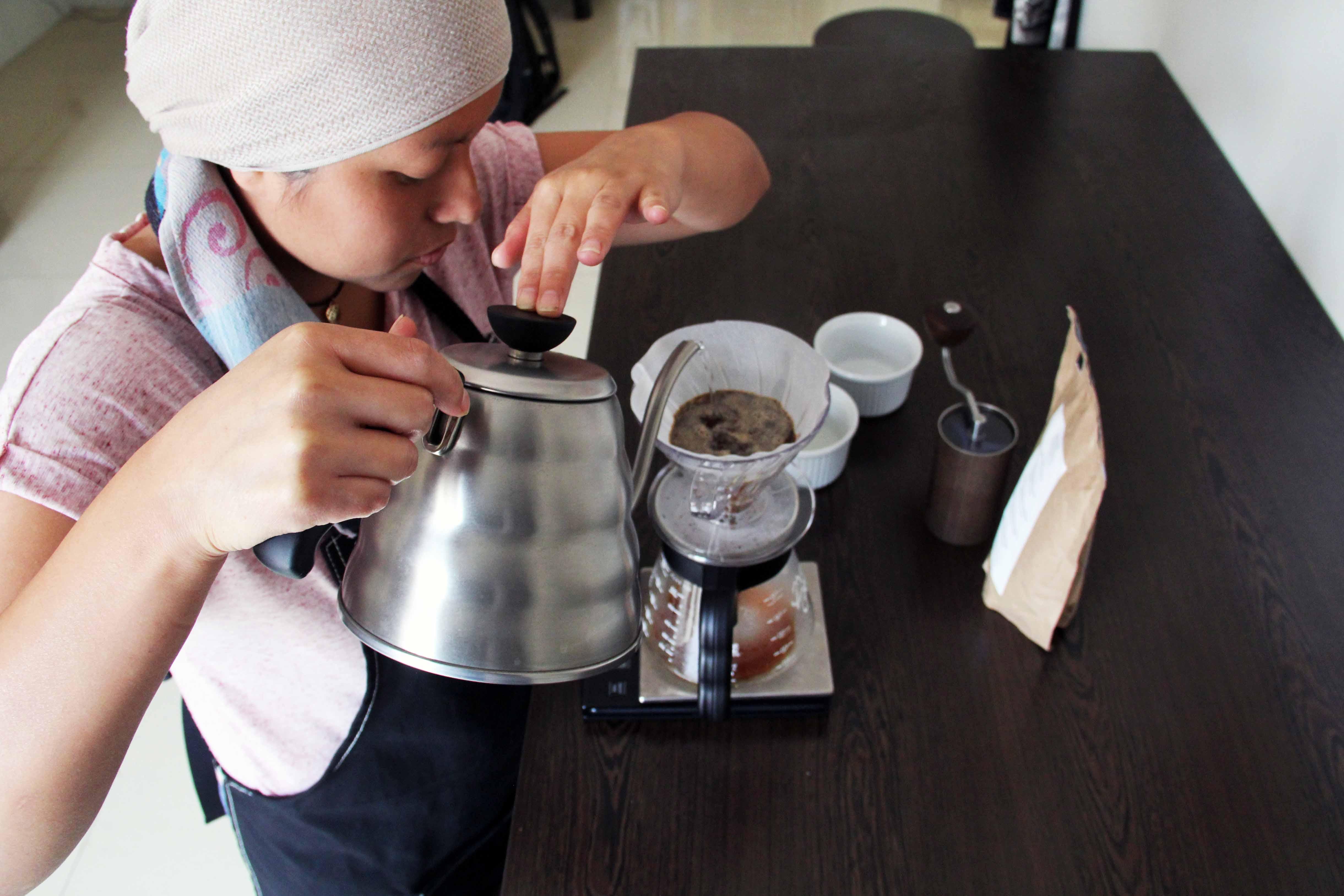Jeraldine Torres: de profesión, barista