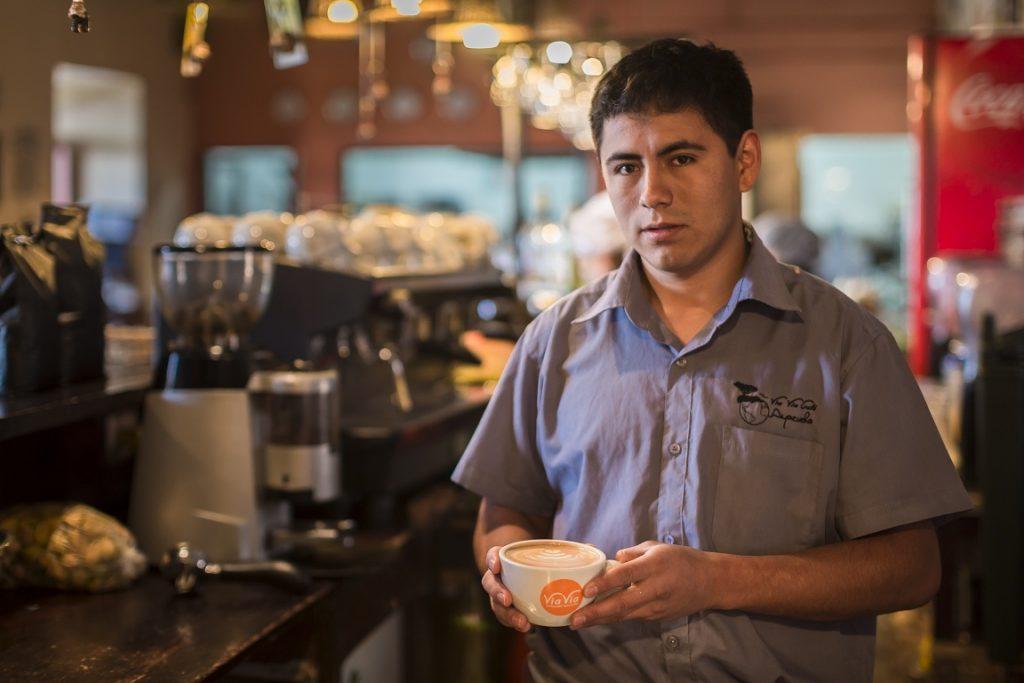 Café con encanto ayacuchano