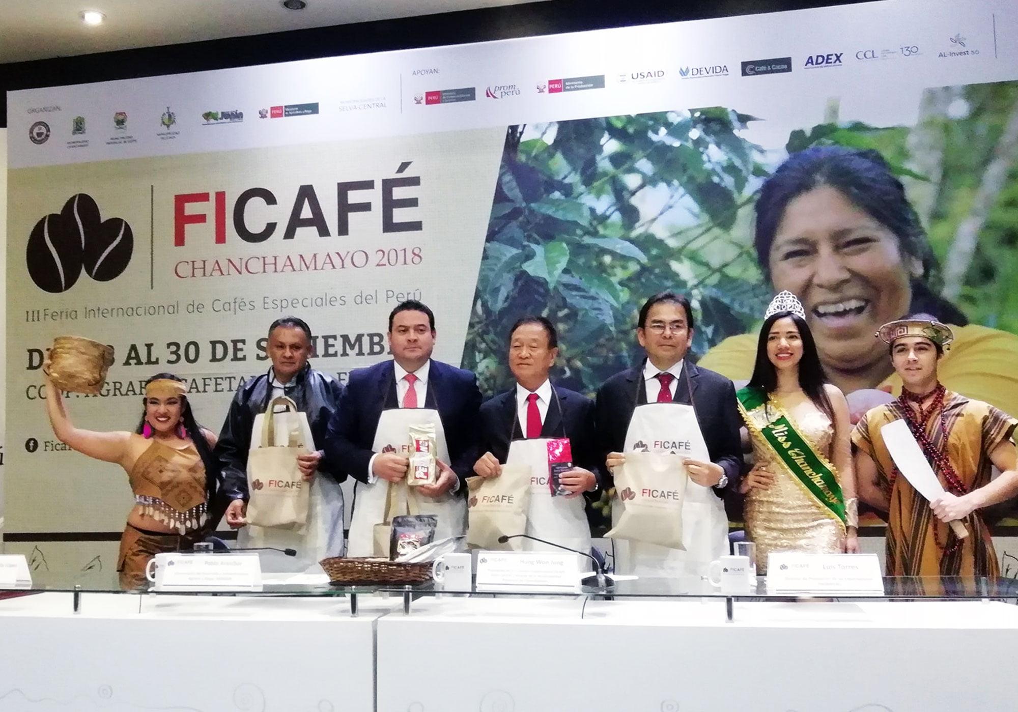 FICAFÉ 2018: Feria Internacional en Chanchamayo