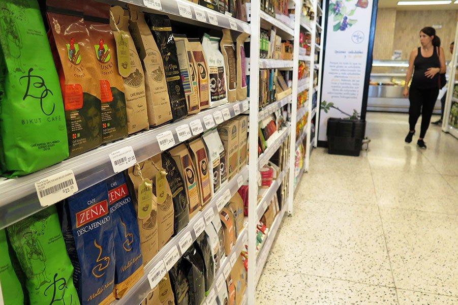Flora&Fauna: café en un mercado saludable