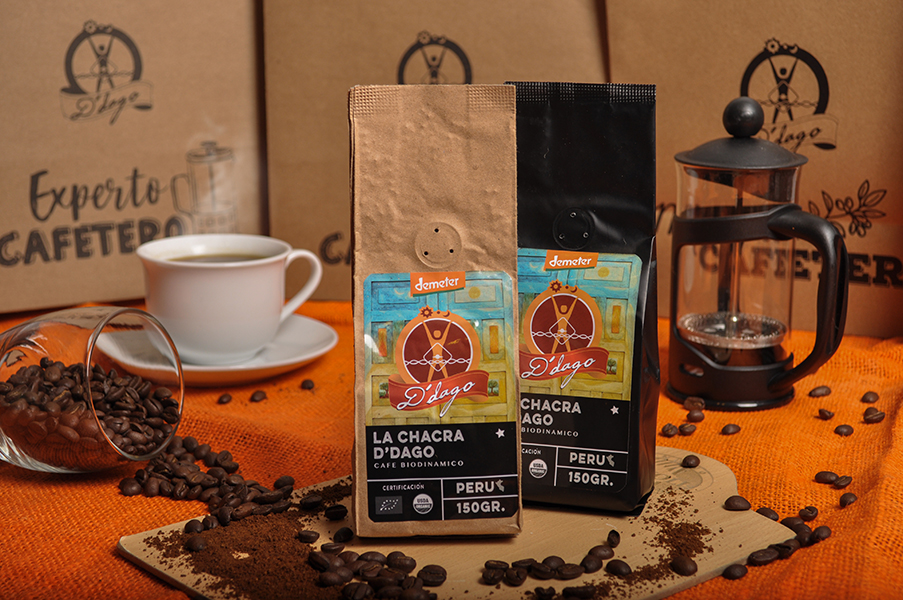 El café biodinámico de La Chacra de D' Dago