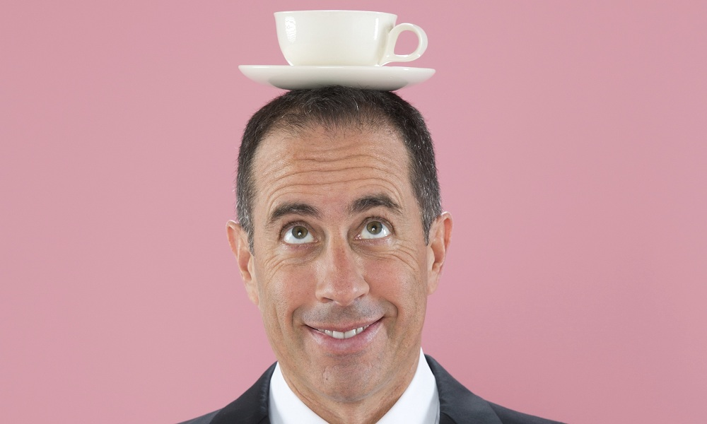 Café para tu comediante favorito con Jerry Seinfeld