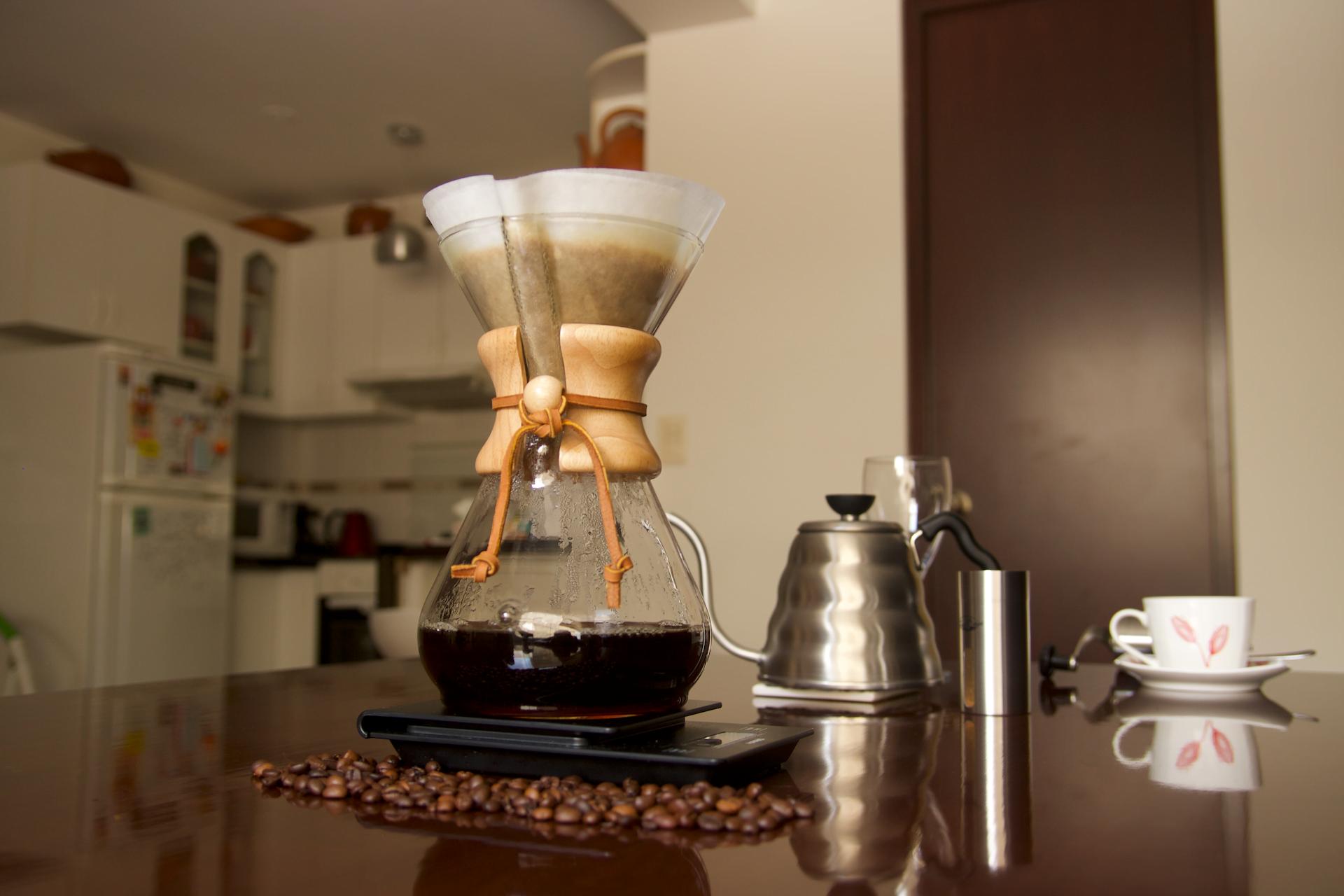 Chemex: una cafetera única para un café único