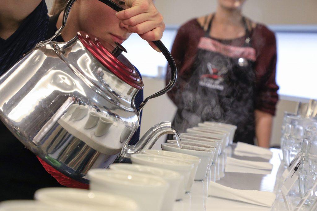 Cursos y talleres en barismo y cata de café