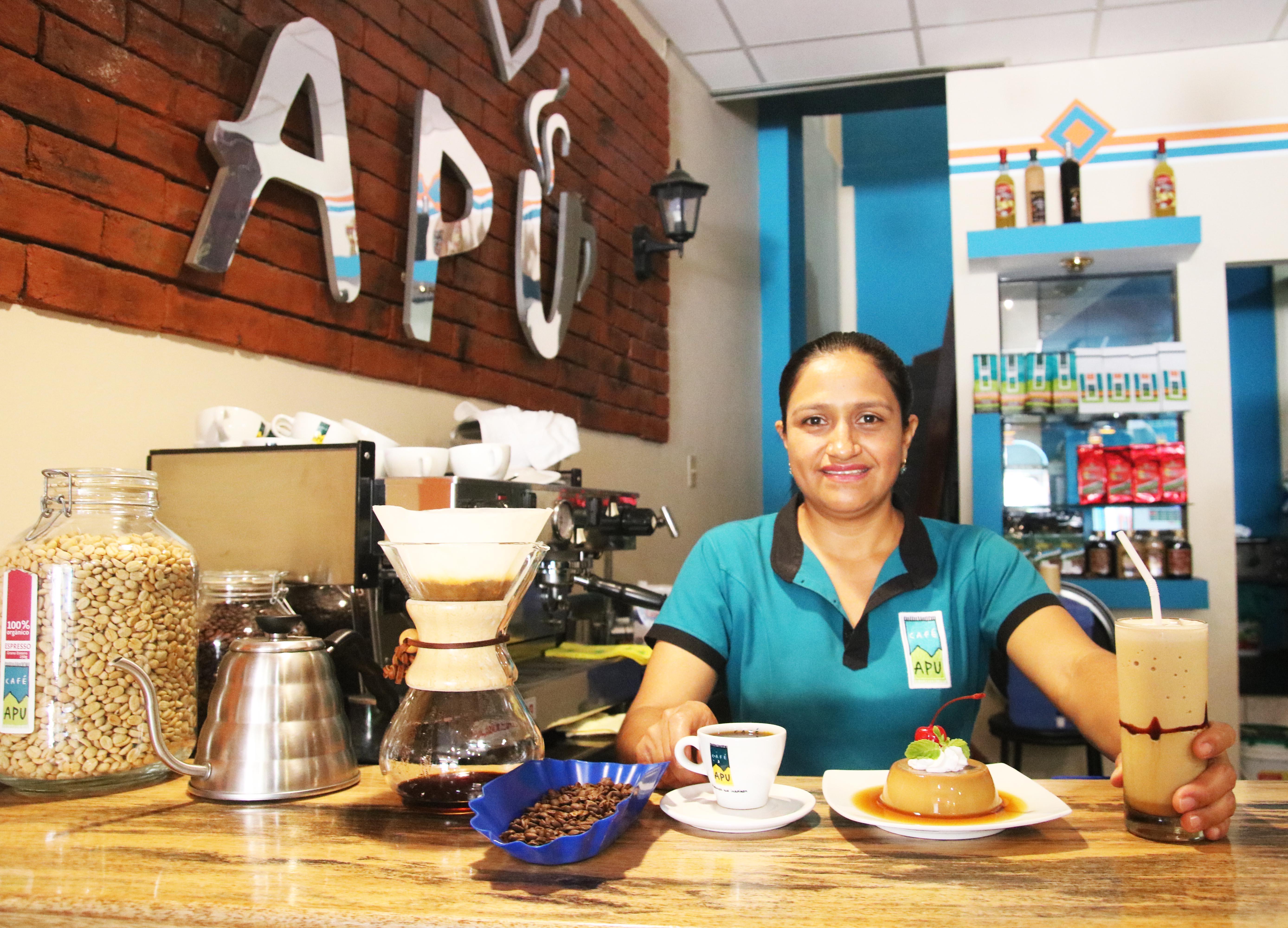 Cafetería Apu, símbolo de la cultura cafetera de Jaén