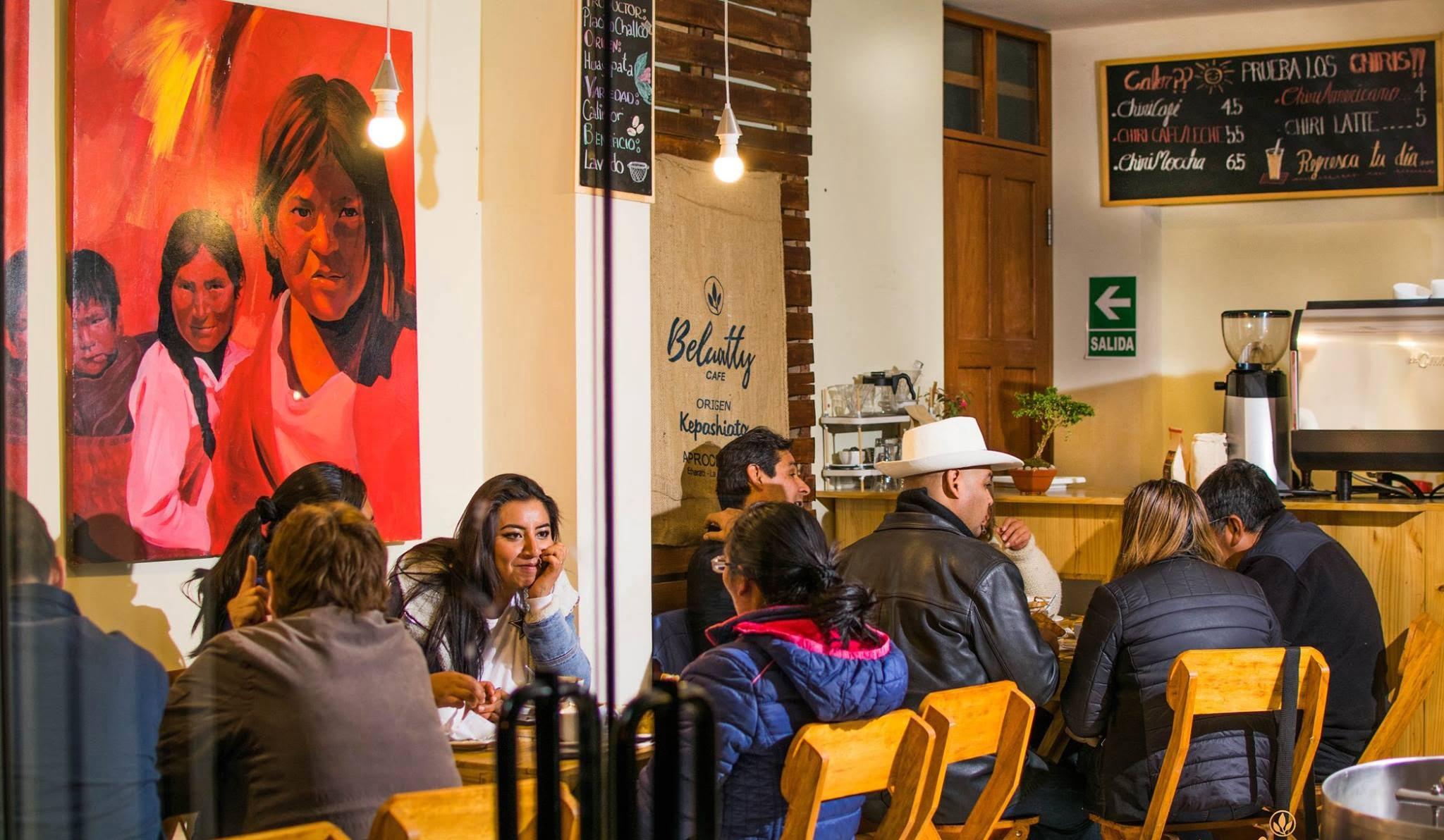 Beluatty Café: Apuesta por el café de Kepashiato y Huayopata