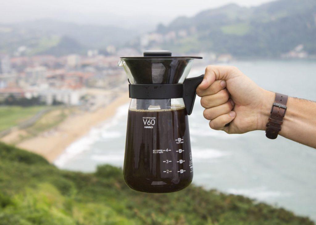 Vanesa Fabián nos enseña a extraer café frío en Fretta