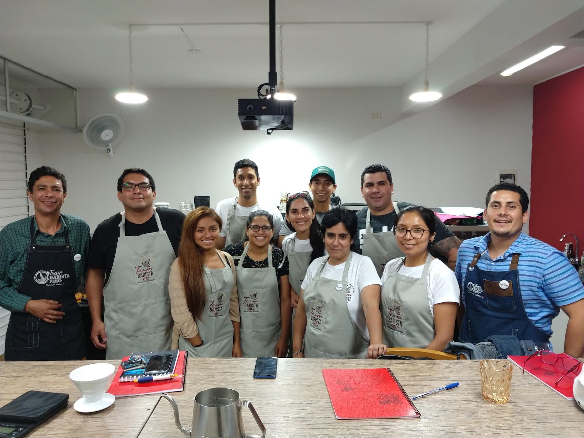Diplomado Team Barista Perú: el reto