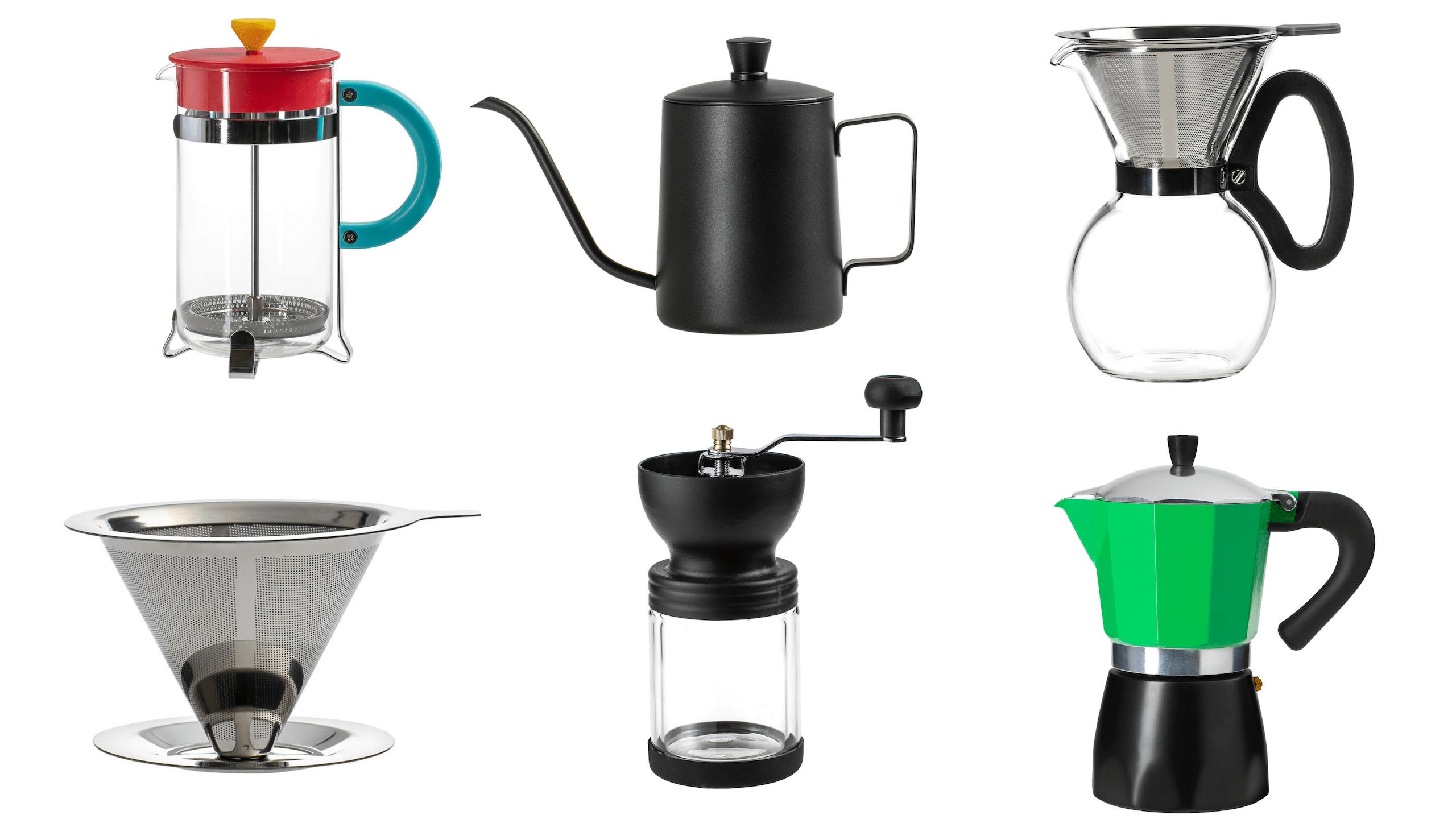 Cafeteras, molinos, filtros y más en Casaideas