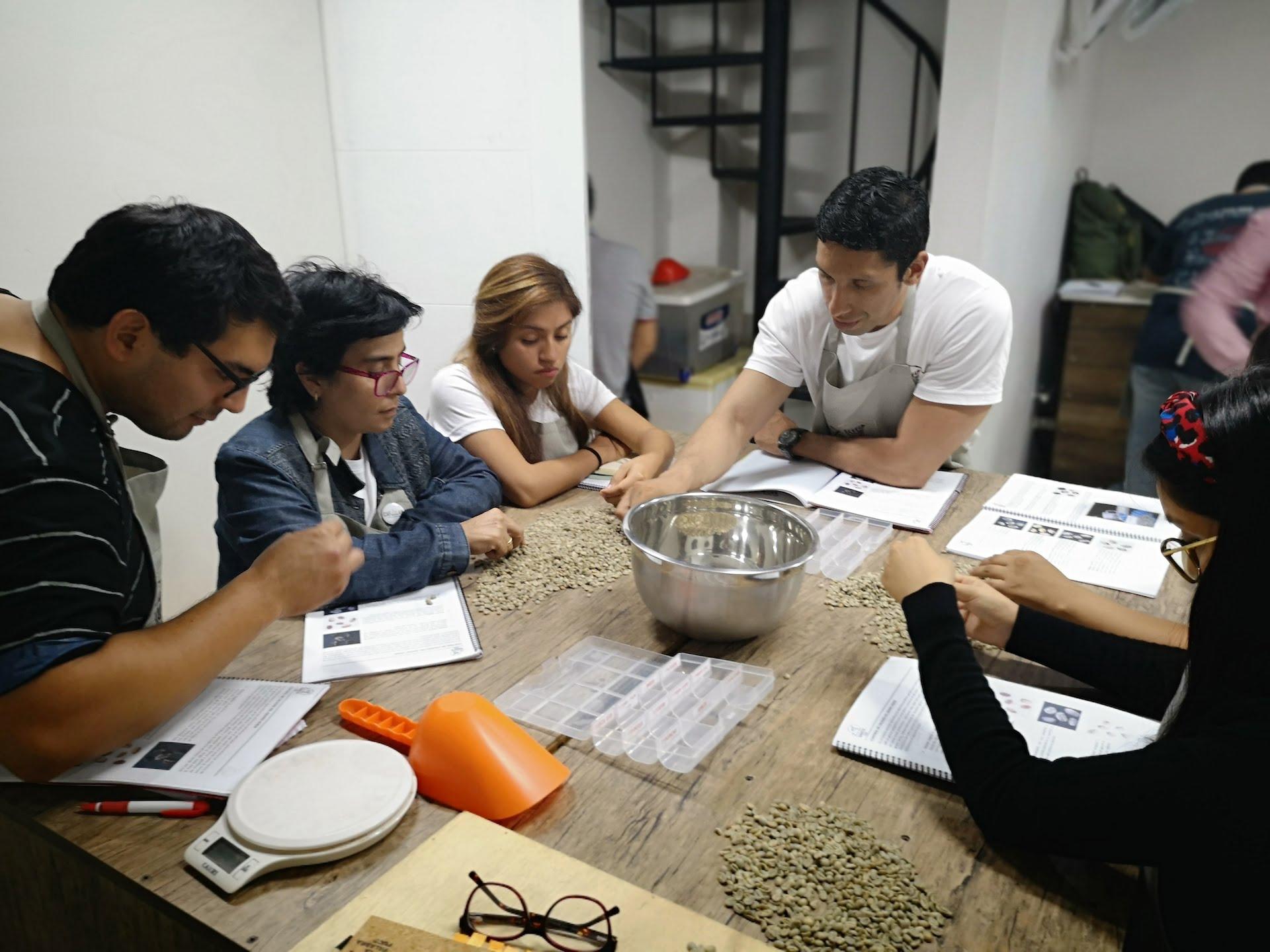 Diplomado Team Barista: yendo del verde al tueste