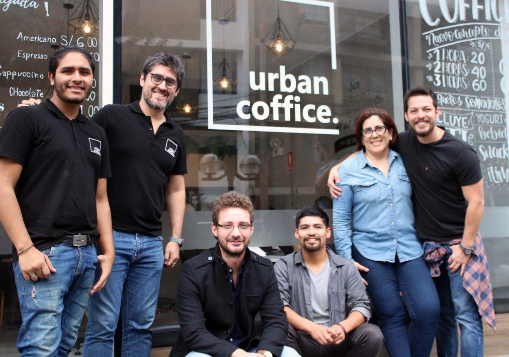 Urban coffice: café y coworking