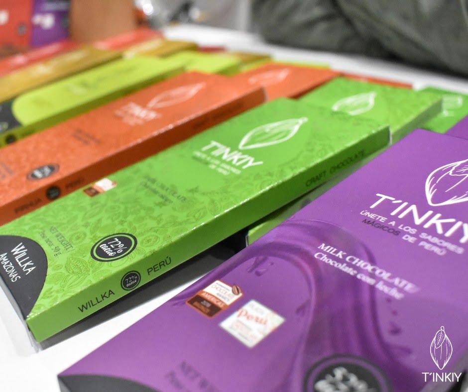 Tinkiy y Maraná tienen los mejores chocolates del Perú