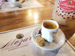 Mozart, un restaurante europeo con devoción cafetera
