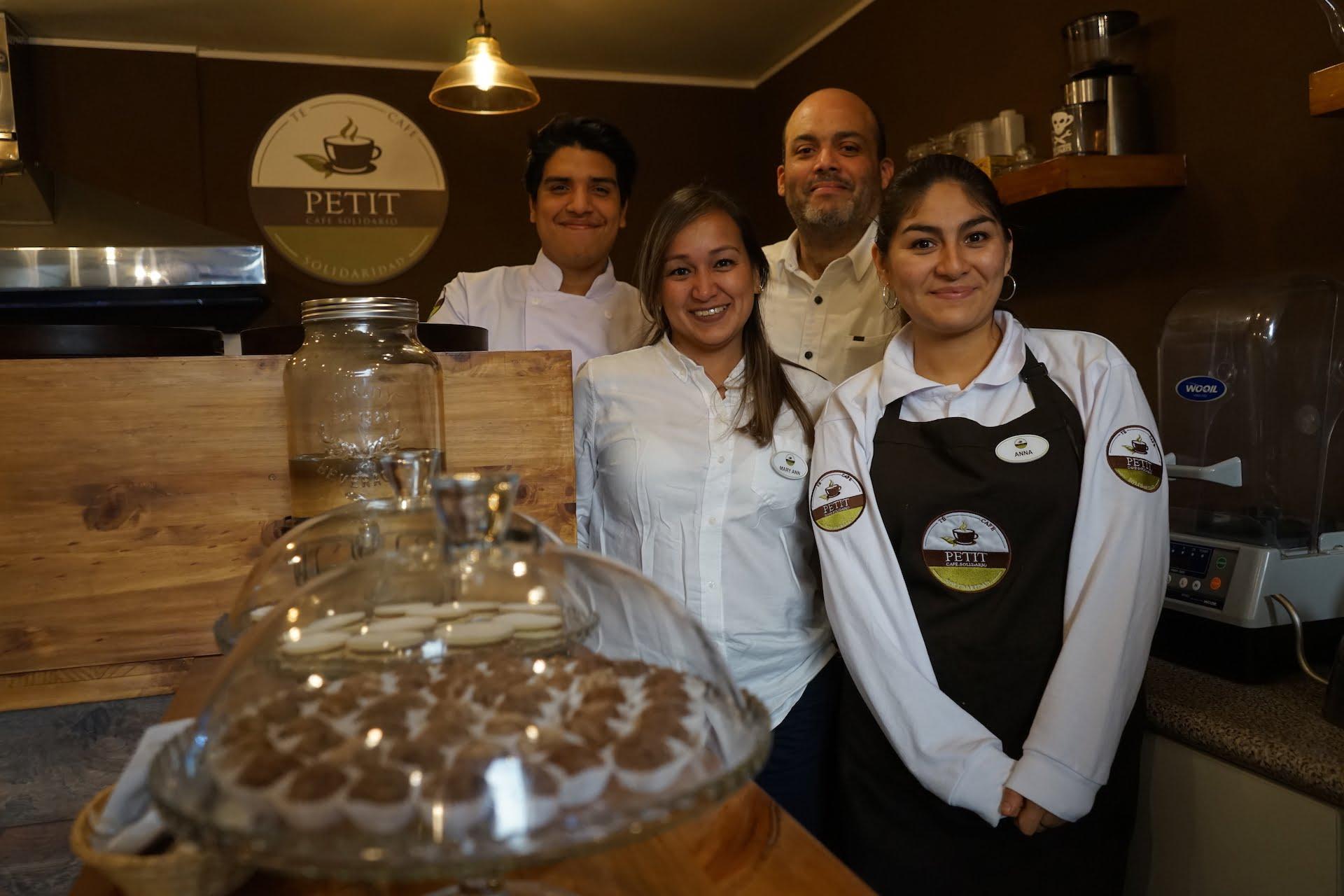 Petit Café Solidario, una cafetería con un corazón enorme