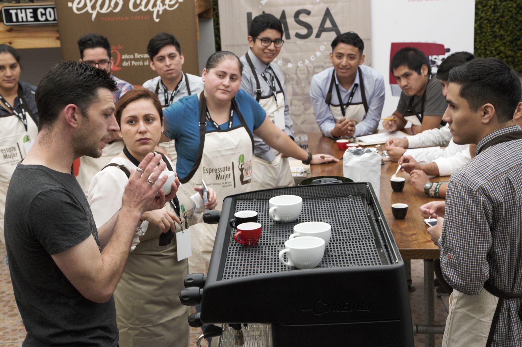 """Dale Harris: """"Perú tendría gran oferta de cafés si experimenta más en procesos"""""""