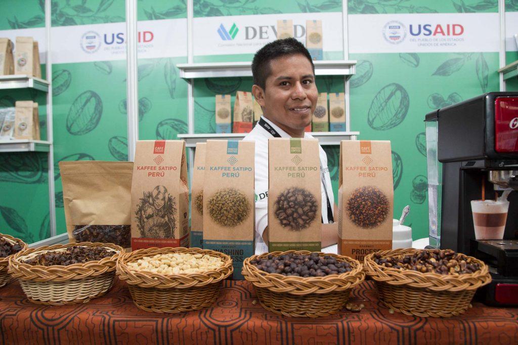 El café en proceso natural de Kaffee Satipo