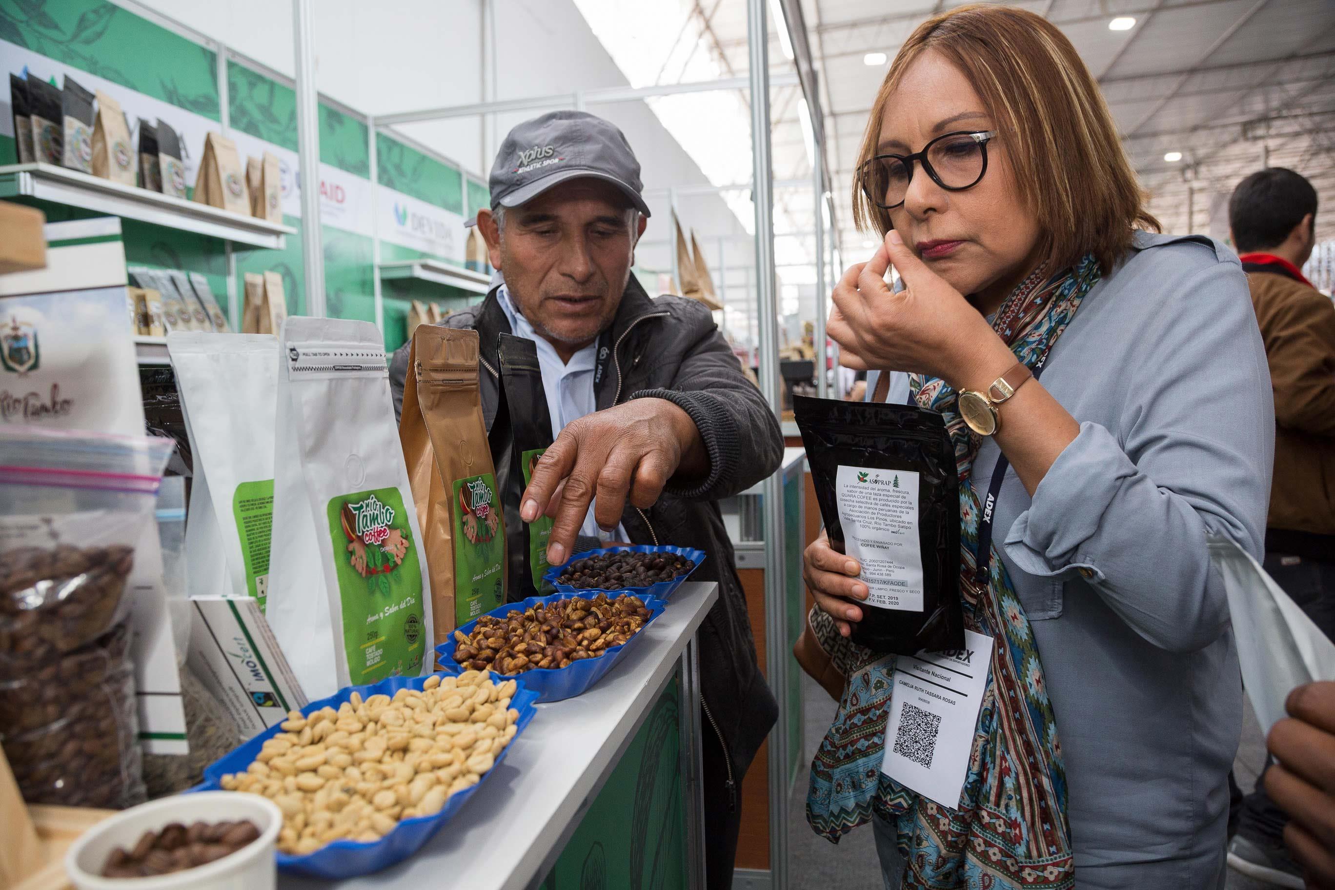 Valle Santa Cruz-Río Tambo alista segundo envío de café a Italia