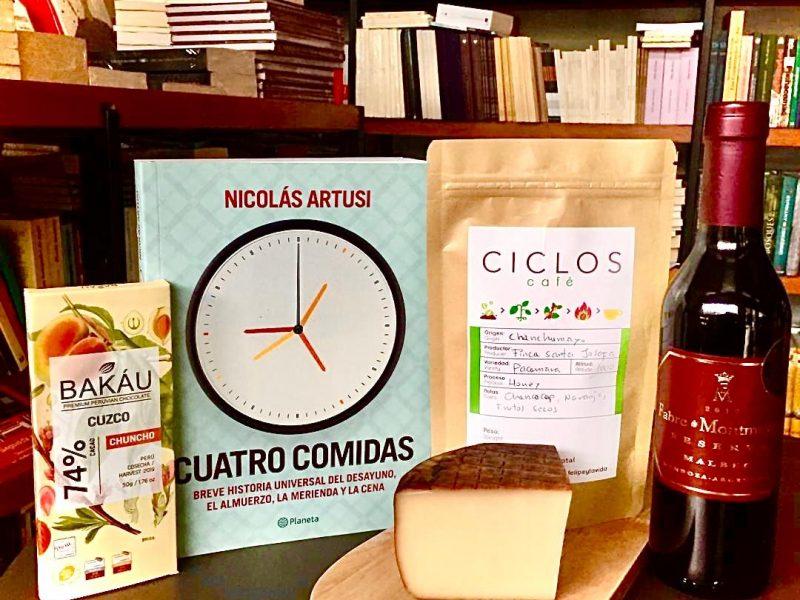 #Caféconlibros Un club de lectura con café, cacao, queso artesanal y vino