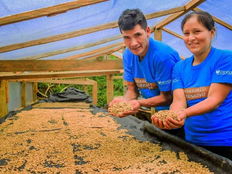 Clomalda Salvador produce el mejor café del Valle del Monzón