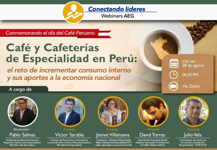 Webinar: el reto de aumentar el consumo interno de café