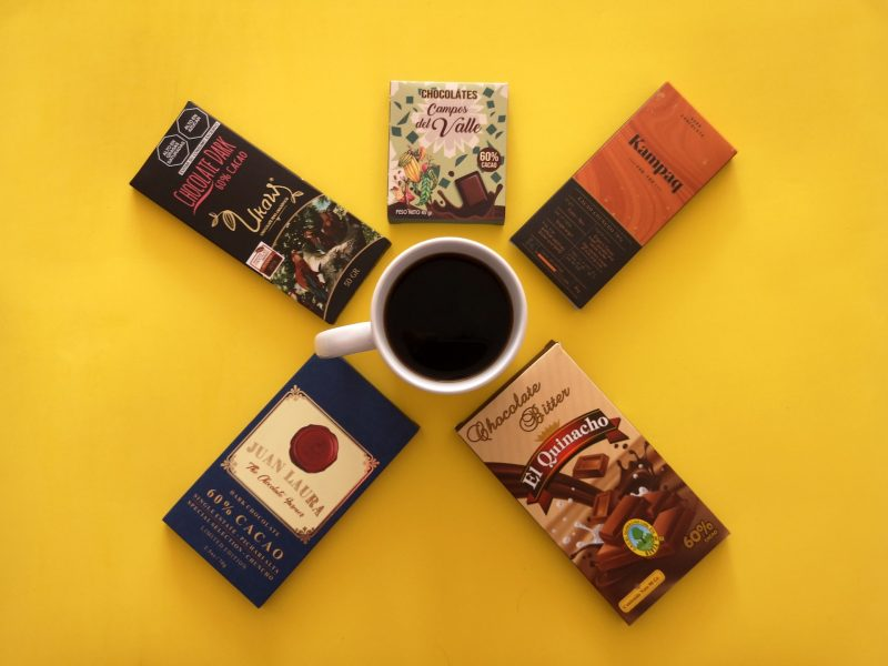 Top 5 de chocolates para maridar con café
