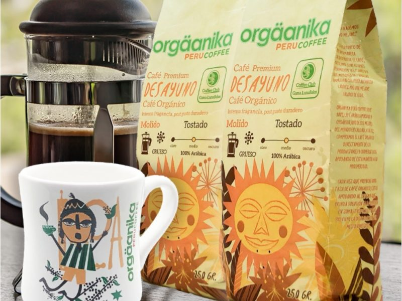 Orgäanika Perú Coffee: café de Cusco y Villa Rica por delivery