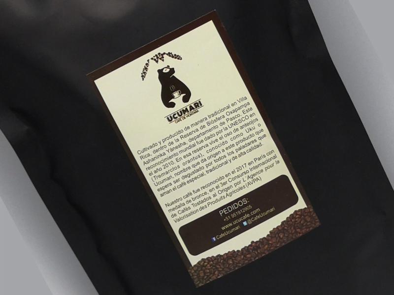 Así es café Ucumari, inspirado en nuestro oso de anteojos