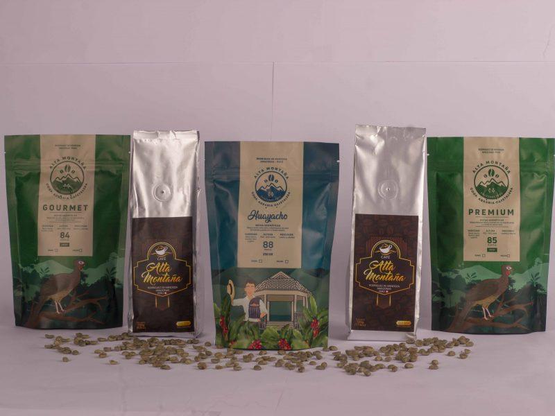 Alta Montaña y sus cafés de las alturas de Rodríguez de Mendoza