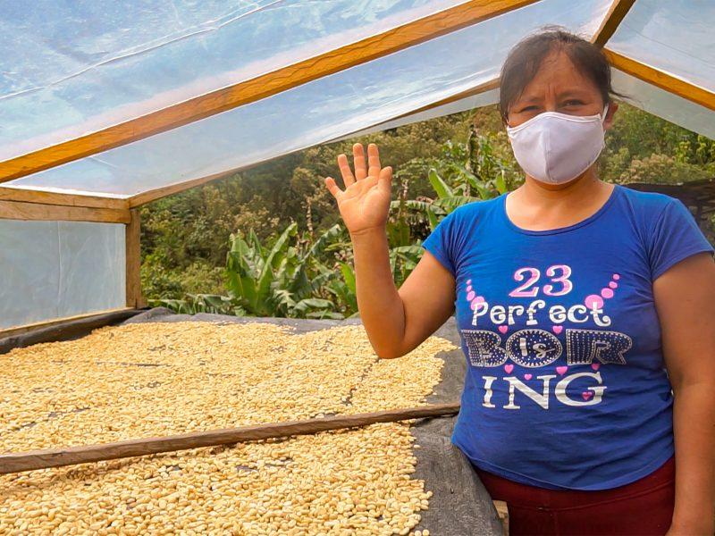 Clomalda Salvador, el café de Huánuco en Taza de Excelencia Perú 2020