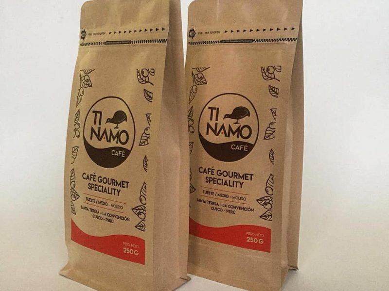 Tinamo Café, un blend para probar del Valle de La Convención