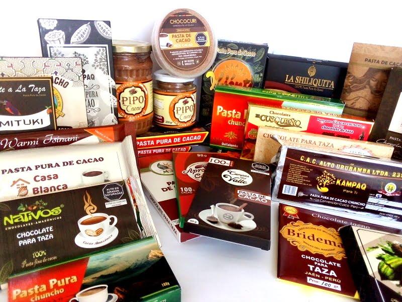 Más de 50 marcas de pasta pura de cacao vía delivery por Navidad