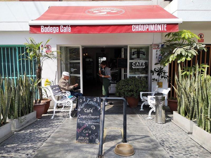 Bodega Café Chaupimonte y su café de Oxapampa