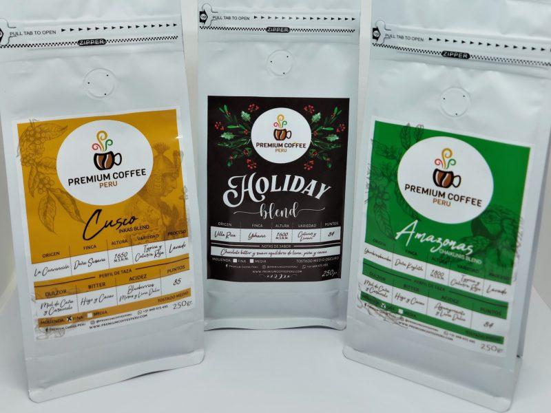 Premium Coffee Perú: cafés premium de Cusco, Amazonas y Pasco