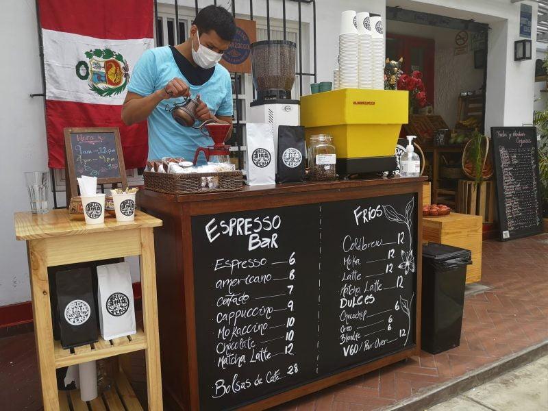 Brew Bird: café para llevar en Miraflores