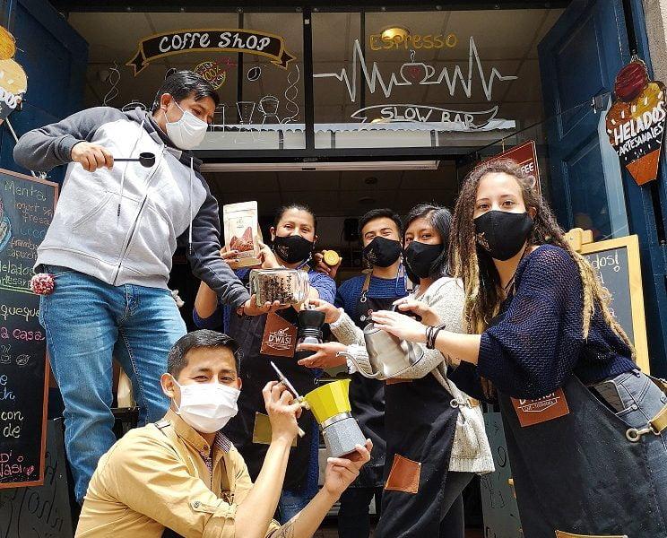 Café D'Wasi, la casa del café en el Cusco contra la pandemia