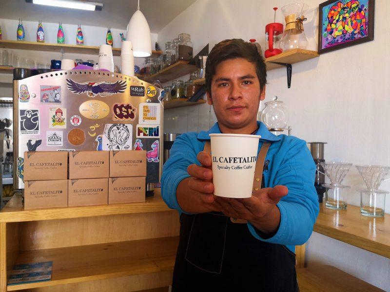 El Cafetalito, una cafetería de Cusco en pausa por la pandemia