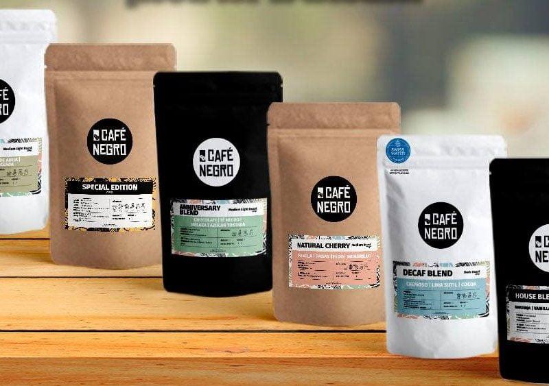Café Negro: delivery de cafés especiales