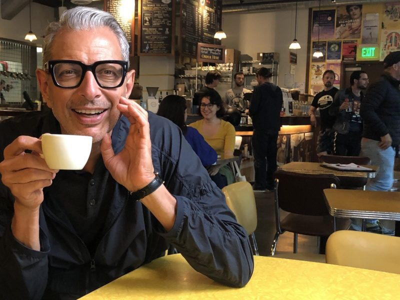 El café según Jeff Goldblum
