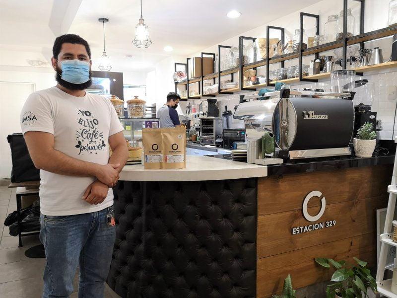 Estación 329: buen café y líneas de negocio frente a la nueva cuarentena