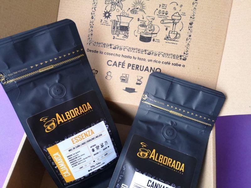 Alborada Coffee: un box con cafés de especialidad de Cusco y Cajamarca