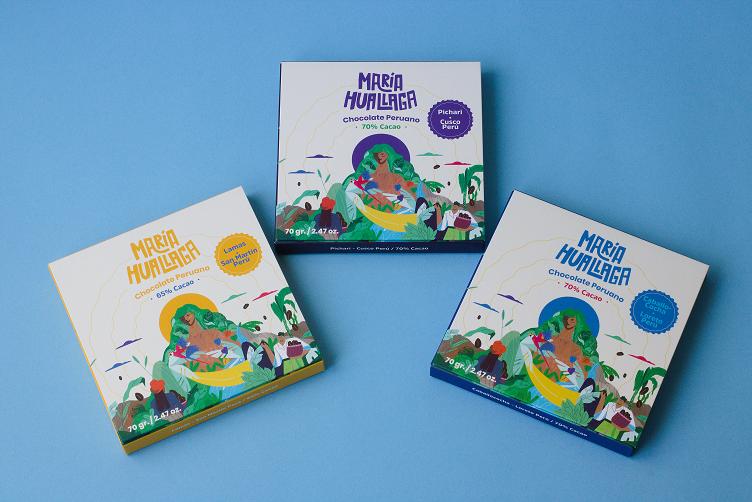 La aventura chocolatera de María Huallaga con cacao de Cusco, San Martín y Loreto