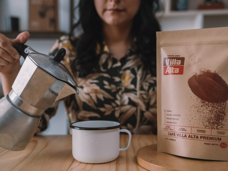 Receta: Uso de la moka con Café de Villa Alta