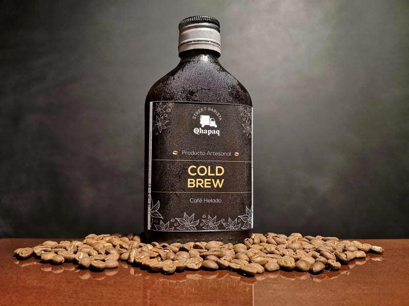 Receta: Cold brew de Qhapaq Street Barista con jugo de naranja y agua tónica