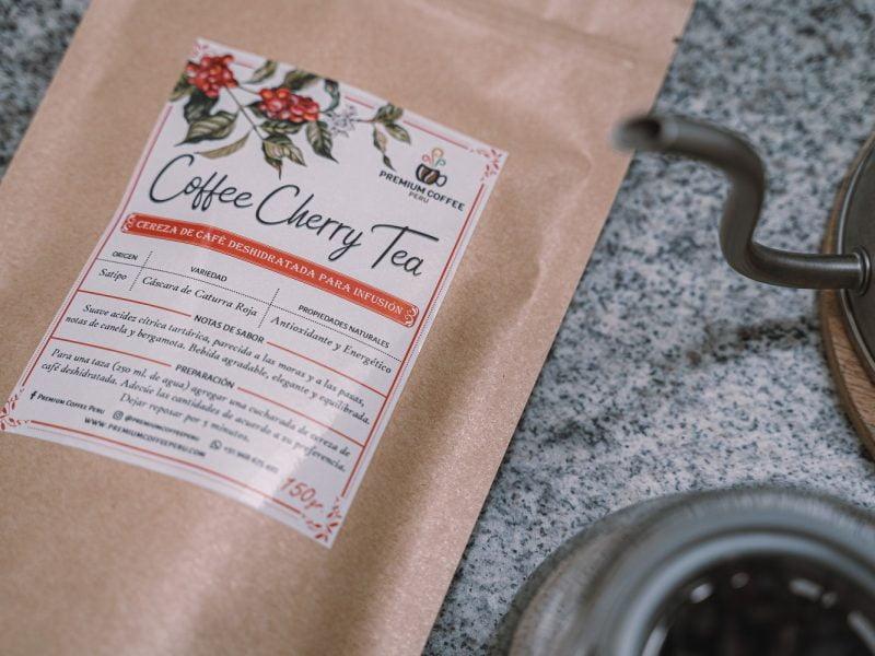 Receta: infusión de café con agua gasificada de Premium Coffee Perú