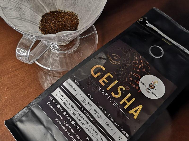 Geisha Black Honey de Premium Coffee Perú