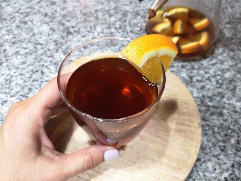 Receta: Café de Premium Coffee Perú con naranja y hielo