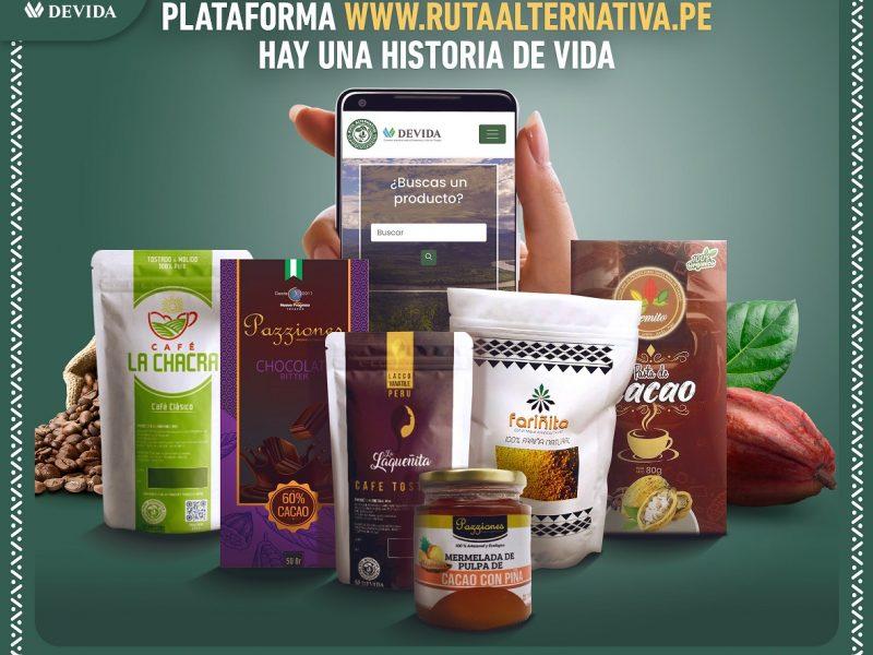 Ruta Alternativa: catálogo online de productos de 50 organizaciones
