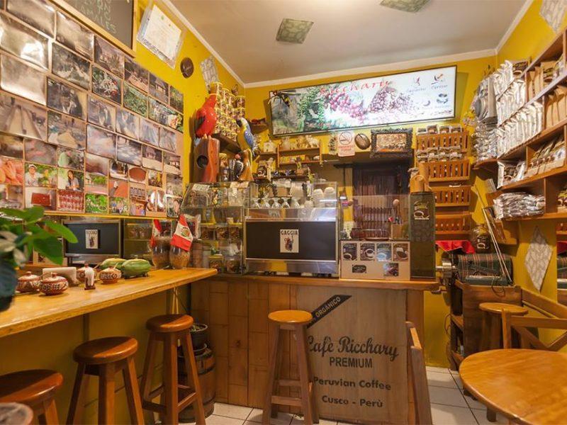 Café Ricchary, una cafetería para despertar con el café de Quillabamba